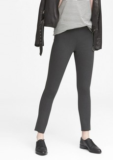 Banana Republic Devon Legging-Fit Washable Heathered Bi-Stretch Ankle Pant