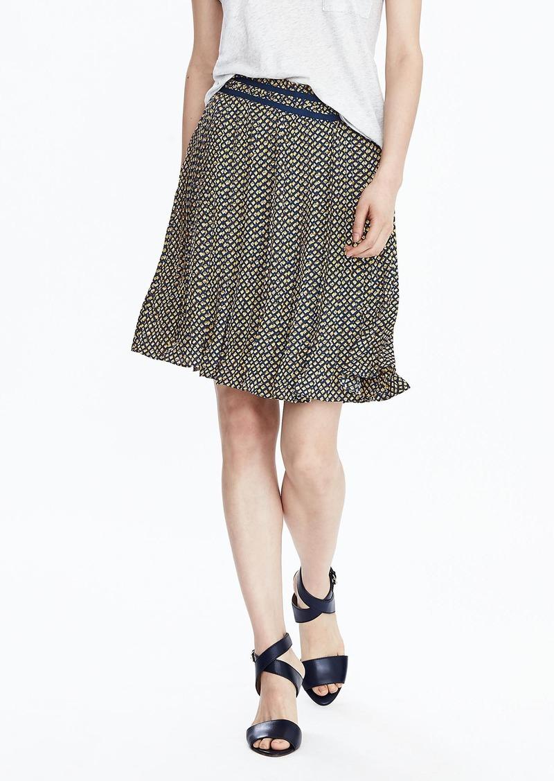 Banana Republic Diamond Print Skirt