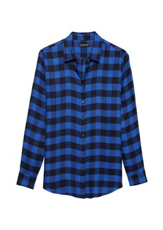 Banana Republic Dillon Classic-Fit Buffalo Plaid Flannel Shirt