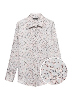 Banana Republic Dillon Classic-Fit Ditsy Floral Shirt