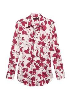 Banana Republic Dillon Classic-Fit Floral Soft Shirt