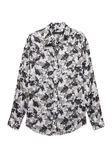 Banana Republic Dillon Classic-Fit Leaf Print Shirt