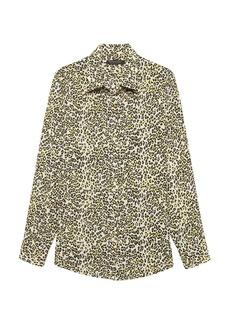 Banana Republic Dillon Classic-Fit Leopard Print Shirt