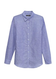 Banana Republic Dillon Classic-Fit Linen-Cotton Shirt