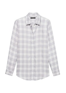 Banana Republic Dillon Classic-Fit Plaid Flannel Shirt