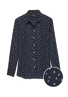 Banana Republic Dillon Classic-Fit Polka Dot Shirt