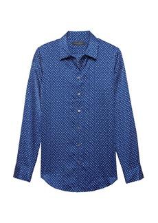 Banana Republic Dillon Classic-Fit Soft Dot Shirt