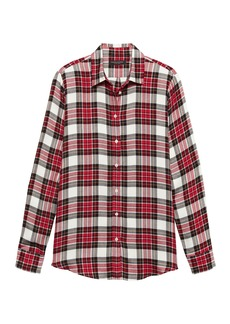 Banana Republic Dillon Classic-Fit Tartan Plaid Flannel Shirt