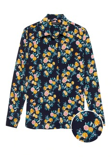 Banana Republic Dillon Classic-Fit Washable Silk Shirt