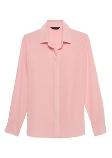 Banana Republic Dillon Classic-Fit Washable Silk Shirt