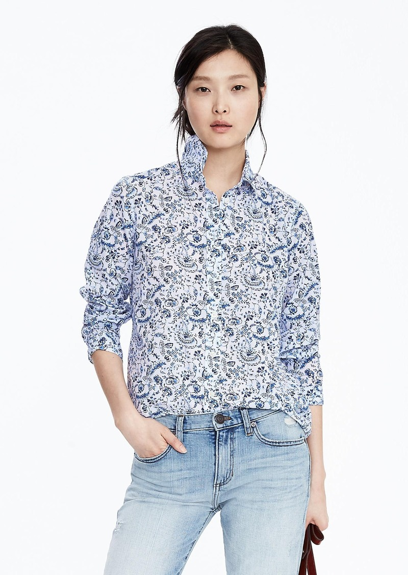 Banana Republic Dillon-Fit Classic Floral Shirt