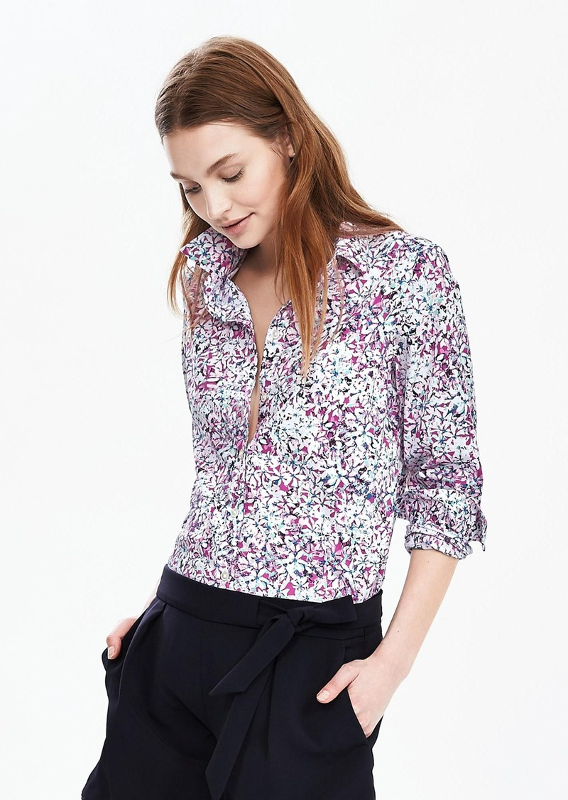 Banana Republic Dillon-Fit Print Shirt