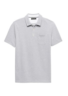 Banana Republic Don't-Sweat-It Birsdeye Polo