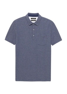 Banana Republic Don't-Sweat-It Mini Stripe Polo