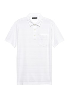 Banana Republic Don't-Sweat-It Polo