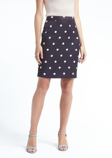 Banana Republic Dot Pencil Skirt