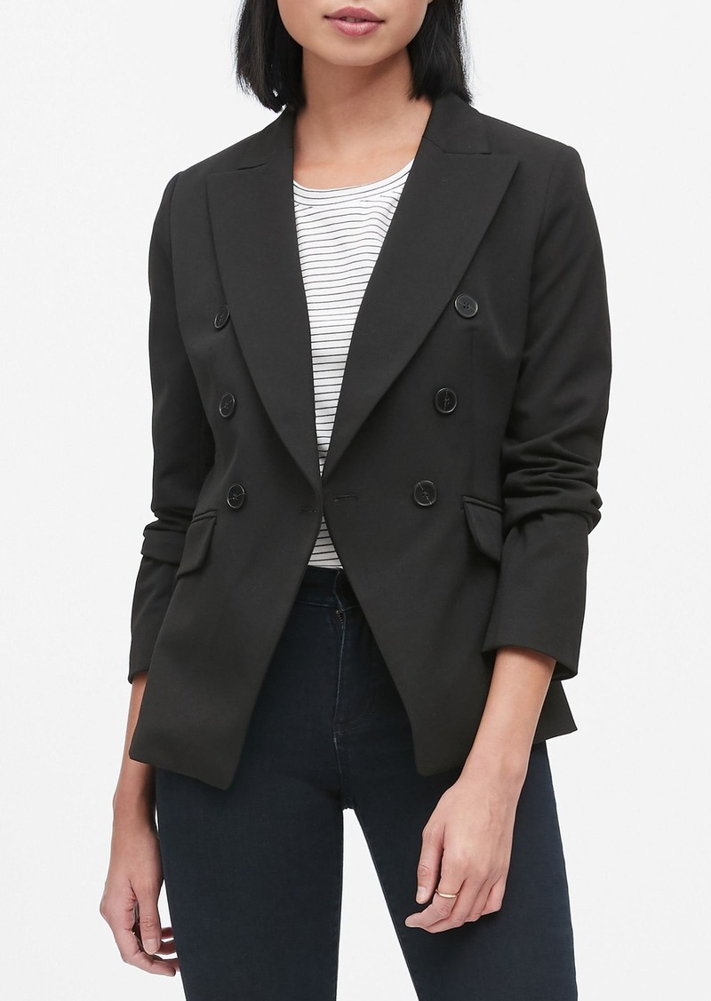Banana Republic Double-Breasted Blazer