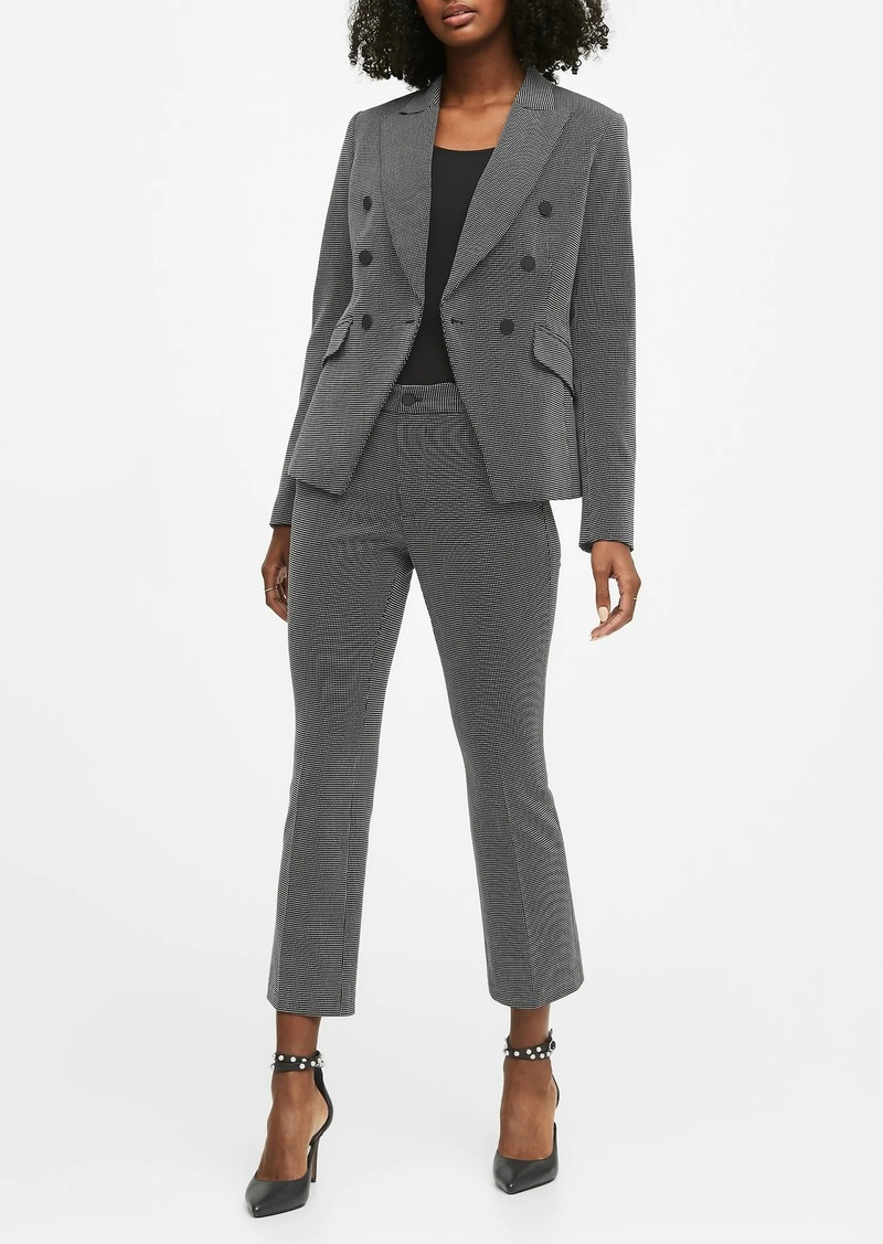 Banana Republic Double-Breasted Dot Blazer