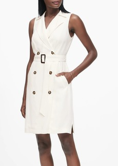 Banana Republic Double-Breasted Trench Dress