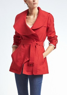 Drapey Flounce Trench