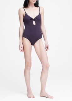 Banana Republic Eberjey &#124 So Solid Lizzie One-Piece Swimsuit