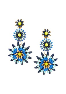 Banana Republic Elizabeth Cole &#124 Limited Edition Blue Floral Earring