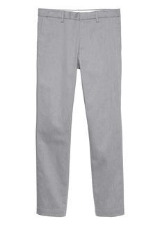 Banana Republic Emerson Straight Heathered Rapid Movement Chino