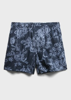 Banana Republic Etched Floral Boxer