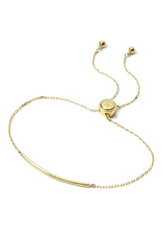 Banana Republic Everyday Luxuries 14k Gold-Plated Bar Slider Bracelet