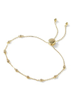 Banana Republic Everyday Luxuries 14k Gold-Plated CZ Slider Bracelet