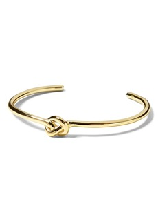 Banana Republic Everyday Luxuries 14k Gold-Plated Knot Cuff