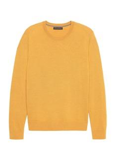 Banana Republic Italian Merino Wool Crew-Neck Sweater
