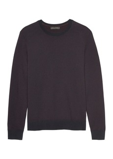 Banana Republic Extra-Fine Italian Merino Wool Crew-Neck Sweater