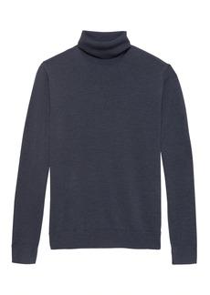 Banana Republic Italian Merino Turtleneck Sweater