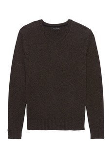 Banana Republic Extra-Fine Italian Merino WoolV-Neck Sweater