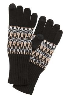 Banana Republic Fair Isle Knit Gloves