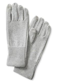Banana Republic Faux-Leather Framed Texting Glove