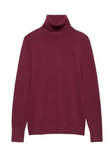 Banana Republic Feather-Touch Turtleneck Sweater