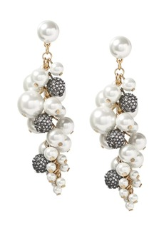 Banana Republic Fireball and Pearl Statement Earring