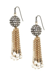 Banana Republic Fireball Tassel Earring