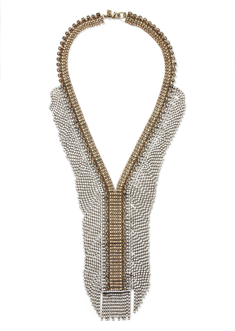 Banana Republic Fireworks Focal Necklace