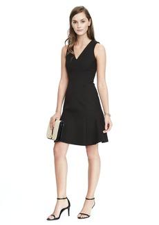 Fit and Flare Bi-Stretch Dress