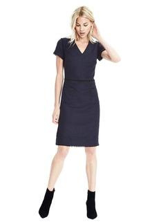 Flannel Shift Pocket Dress