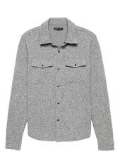 Banana Republic Fleece Shirt Jacket