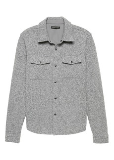 Banana Republic Fleece Shirt Jacket