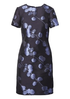 Banana Republic Floral Jacquard Shift Dress