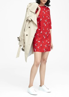Banana Republic Floral Mod Mini Dress