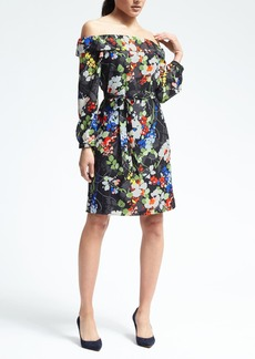 Floral Off-Shoulder Dress