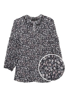 Banana Republic Floral Peasant Top
