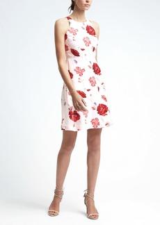 Floral Racerback Cutout Dress